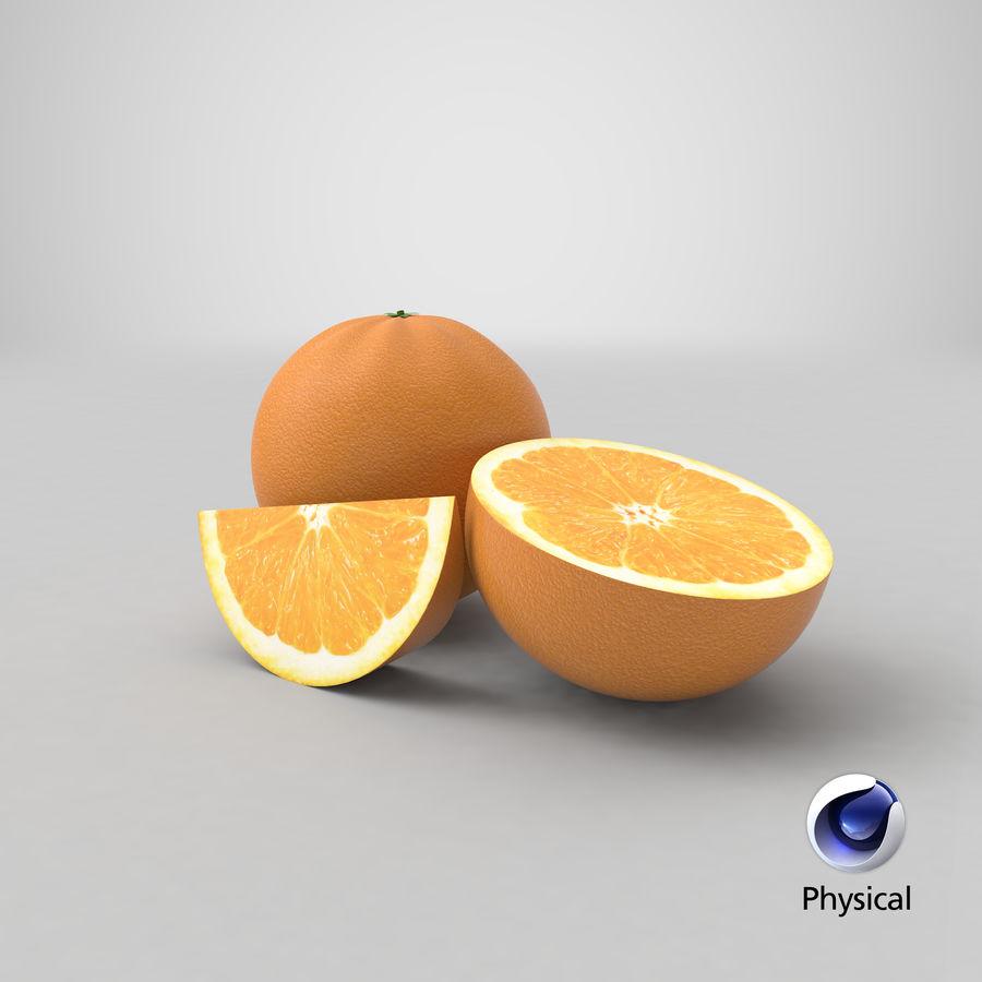 Laranjas Frutas royalty-free 3d model - Preview no. 18