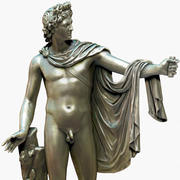 statue Apollo Belvedere 3d model