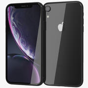 Apple iPhone Xr Black 3d model