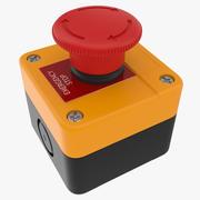 Acil Durum butonu 3d model