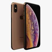 iPhone XS金 3d model