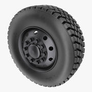 Off Road Rim y Tire modelo 3d