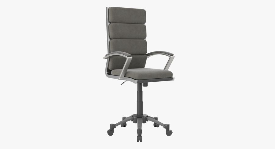 Modern Office Chair royalty-free 3d model - Preview no. 2