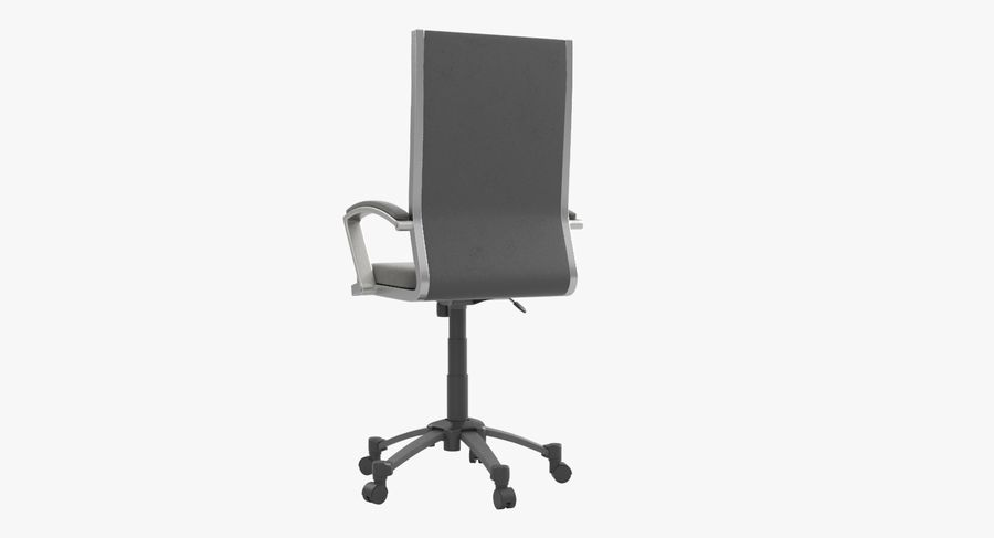 Modern Office Chair royalty-free 3d model - Preview no. 6