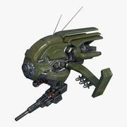 Drone Khaki Colour 3d model