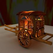 Chinese carriage 3d model