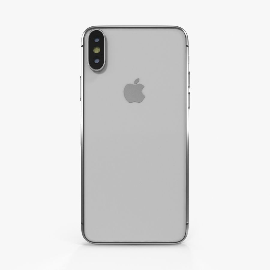 Apple iPhoneX royalty-free 3d model - Preview no. 8