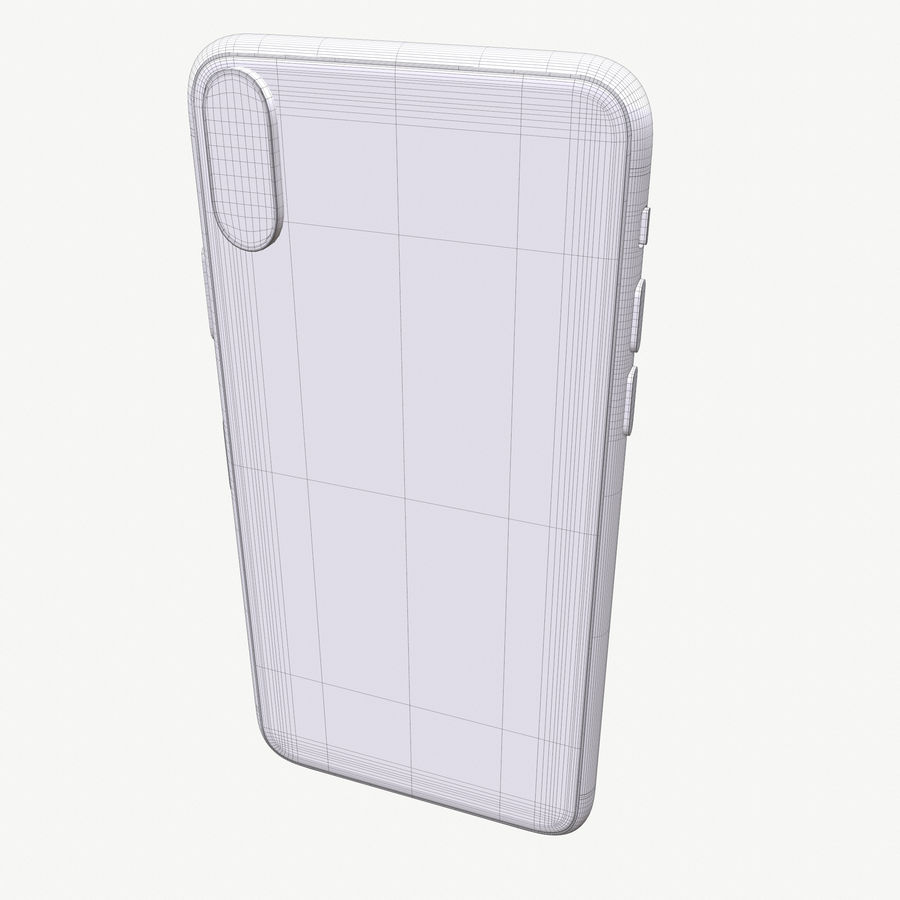 Apple iPhoneX royalty-free 3d model - Preview no. 16