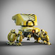 Spider Robot Tank 3d model