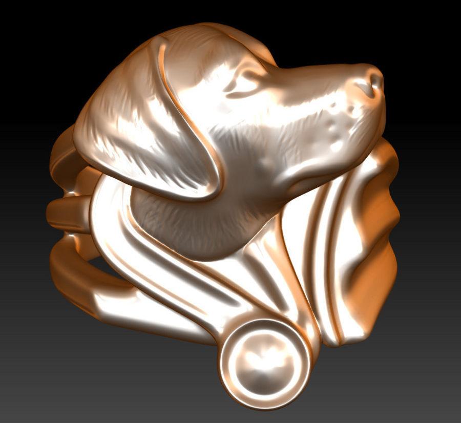 Labrador Ring royalty-free 3d model - Preview no. 3