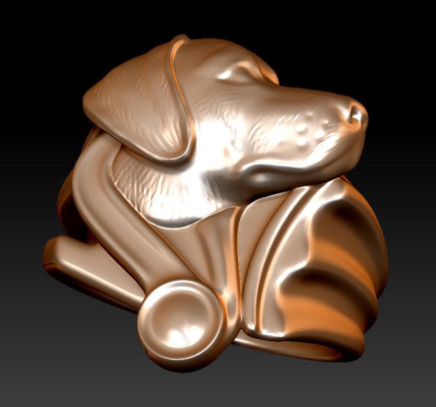 Labrador Ring royalty-free 3d model - Preview no. 7