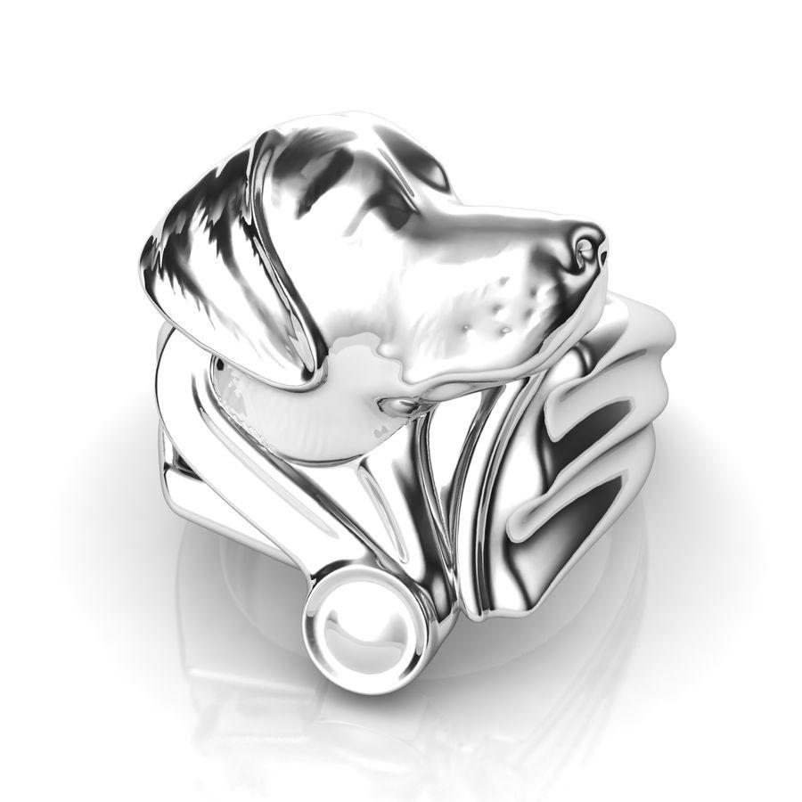 Labrador Ring royalty-free 3d model - Preview no. 2