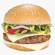 Realistic Hamburger-최고의 3D 모델. 3d model