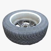 Dirty Tire 02 3d model