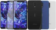 Nokia 5.1 Plus (Nokia X5) Tutti i colori 3d model