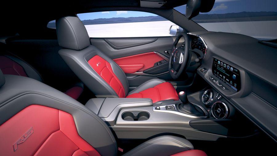 Chevrolet Camaro RS 2019 royalty-free modelo 3d - Preview no. 22