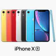 iPhone XR Tutti i colori 3d model