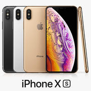 iPhone Xs All color 3d model