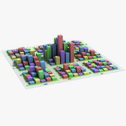 Square City 3d model