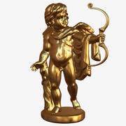 Andel Apollo Cupido modelo 3d