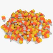 Candy Corn 3 modelo 3d