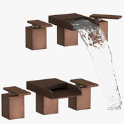 Modern Bathroom Sink Fixture 3d model