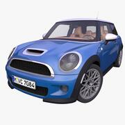 Generic British Hatchback 3d model
