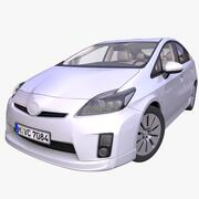 Generic Hybrid Hatchback 3d model