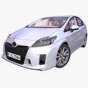 Generic Hybrid Hatchback 3d model