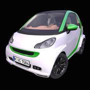 Generic Electric Hatchback 3d model