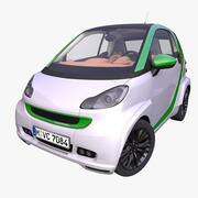 Generic Electric Hatchback 3d model