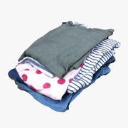 Montón de ropa 05 modelo 3d