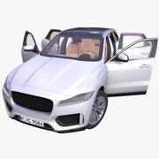 Generic British SUV 3d model