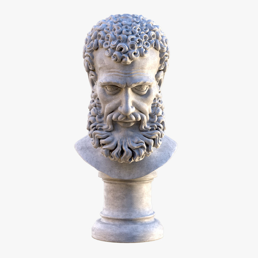 Saint Peter Head Bust royalty-free 3d model - Preview no. 1