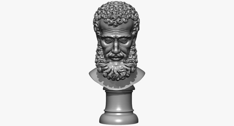 Saint Peter Head Bust royalty-free 3d model - Preview no. 17