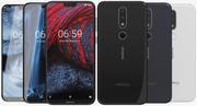 Nokia 6.1 Plus (Nokia X6) Tutti i colori 3d model
