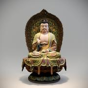 Buddha statue by Photogrammetry 3d model