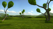 Fantastic  Trees Scene - Models 3d model