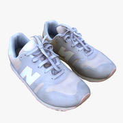 Nike Balance Kids Shoes 3d model