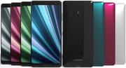 소니 Xperia XZ3 모든 색상 3d model