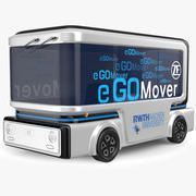 Go Mover Electric Bus 3d model