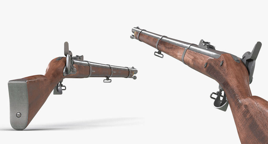 Pirate Weapons 3D模型收藏 royalty-free 3d model - Preview no. 12