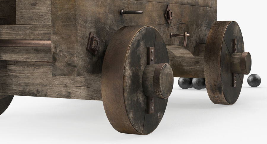 Pirate Weapons 3D模型收藏 royalty-free 3d model - Preview no. 8