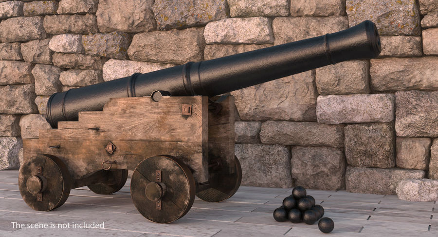 Pirate Weapons 3D模型收藏 royalty-free 3d model - Preview no. 4