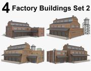 Factory Buildings Set 2 3d model