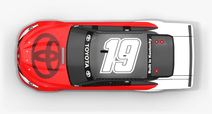 토요타 캠리 NASCAR 시즌 2018 royalty-free 3d model - Preview no. 8