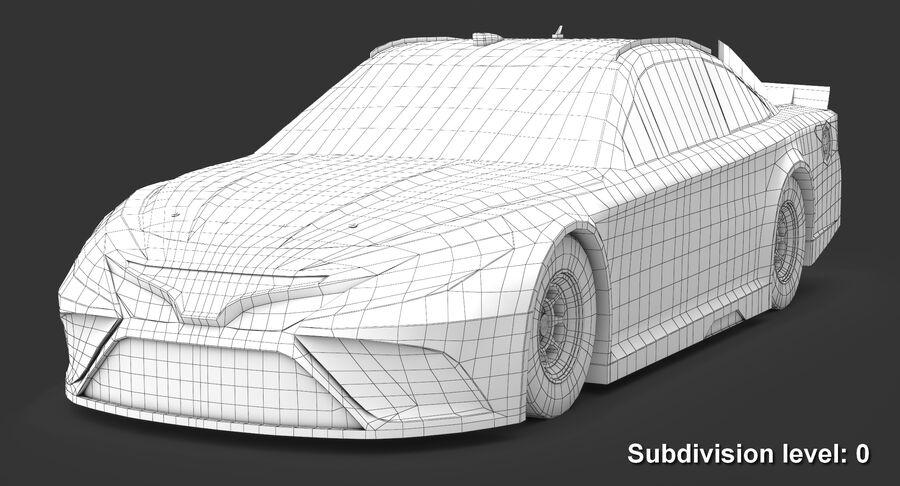 토요타 캠리 NASCAR 시즌 2018 royalty-free 3d model - Preview no. 11
