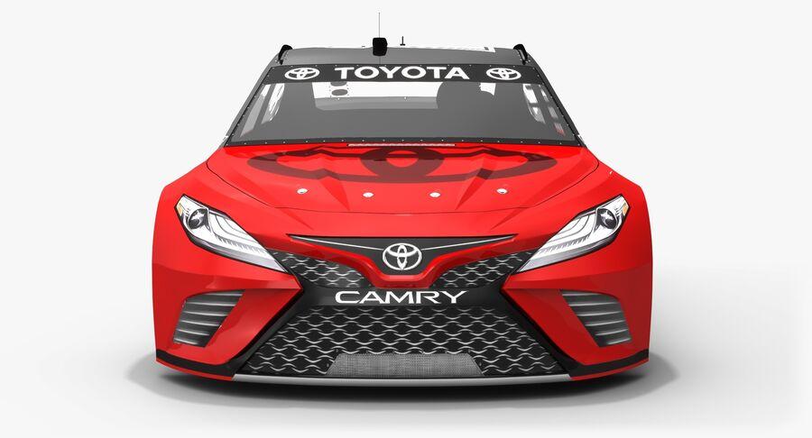 토요타 캠리 NASCAR 시즌 2018 royalty-free 3d model - Preview no. 9
