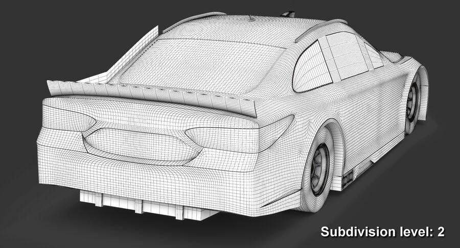 토요타 캠리 NASCAR 시즌 2018 royalty-free 3d model - Preview no. 16