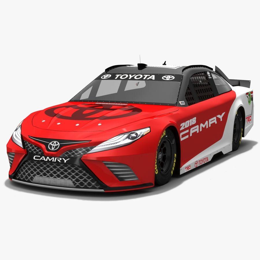 토요타 캠리 NASCAR 시즌 2018 royalty-free 3d model - Preview no. 1